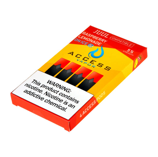Access Vapor Pods Raspberry Lemonade 4ct