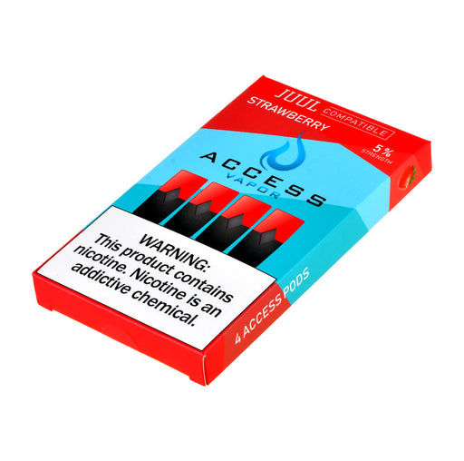 Access Vapor Pods Strawberry 4ct