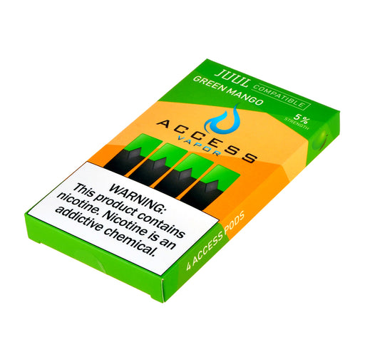 Access Vapor Pods Green Mango 4ct