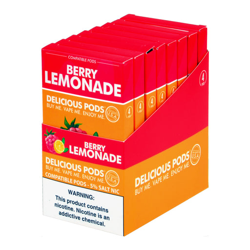 Delicious Pods Berry Lemonade 4ct