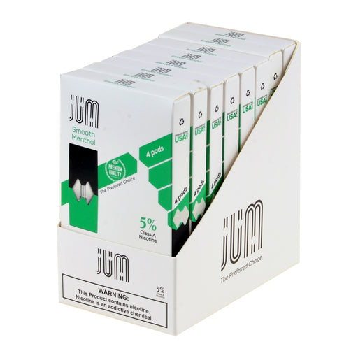 Jum Pods Smooth Menthol 4ct