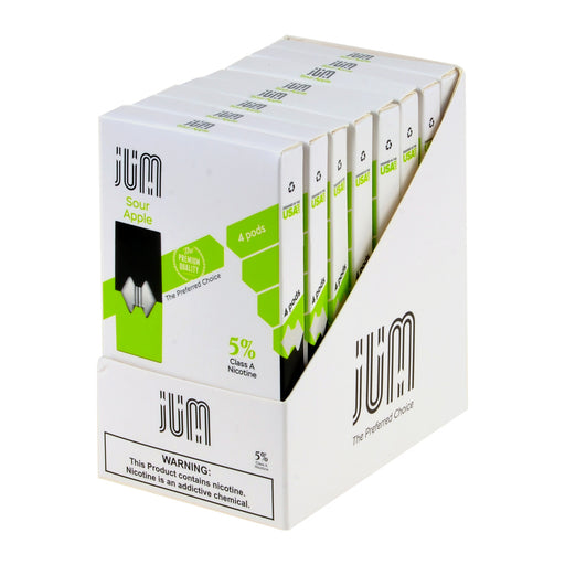 Jum Pods Sour Apple 4ct