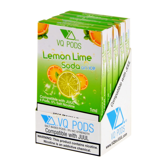 VQ PODS Lemon Lime Soda On Ice 4ct