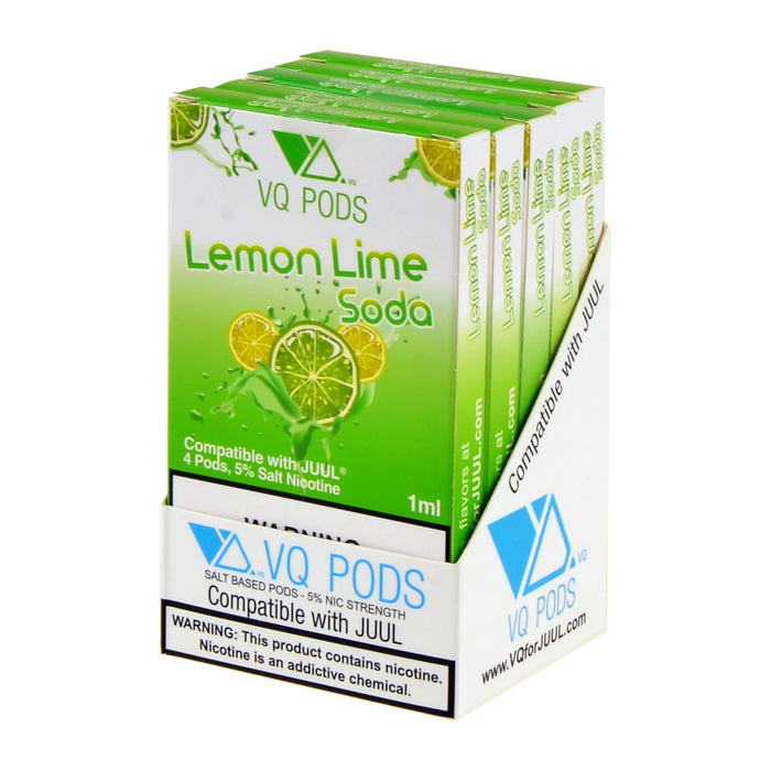 VQ PODS Lemon Lime Soda 4ct