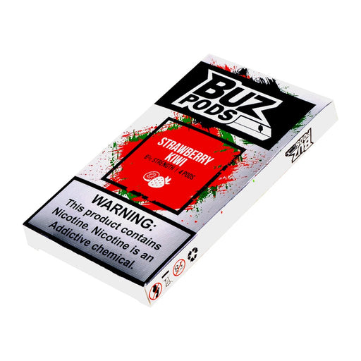 Buz V2 Pods Strawberry Kiwi 4ct
