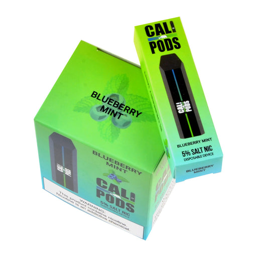 Cali Disposable Pod Device Blueberry Mint