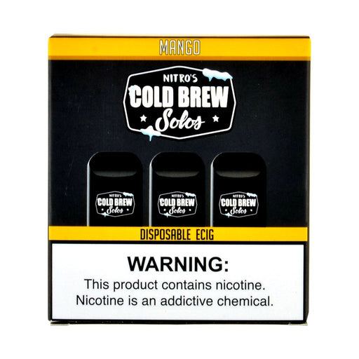 Nitro's Cold Brew Solos Mango Disposable E-Cig