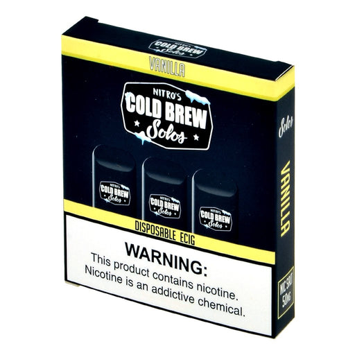 Nitro's Cold Brew Solos Vanilla Disposable E-Cig