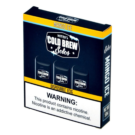 Nitro's Cold Brew Solos Mango Ice Disposable E-Cig