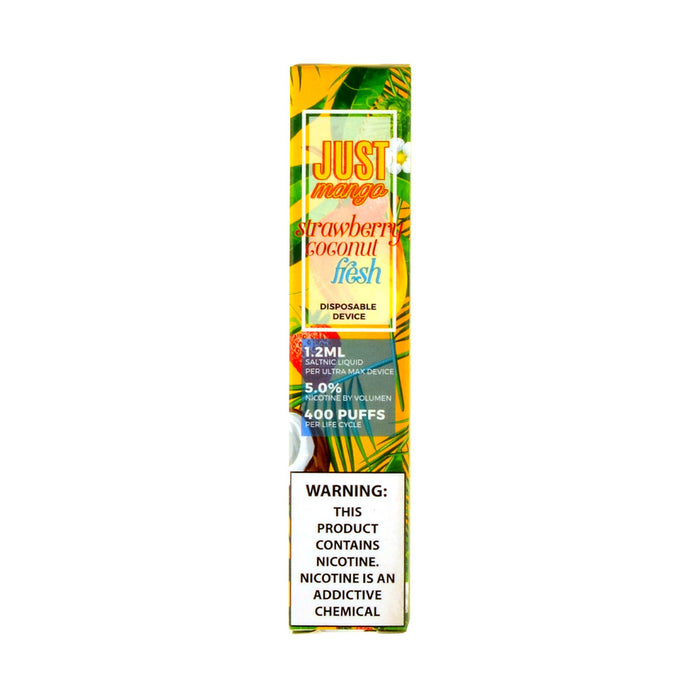 Just Mango Strawberry Coconut Fresh Disposable Pod Device