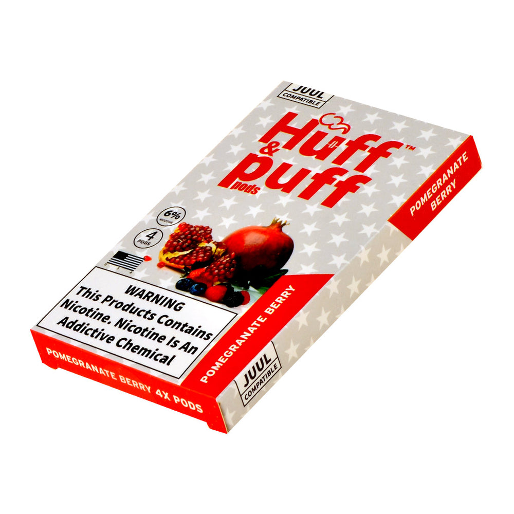 Huff & Puff Pods Pomegranate Berry 4ct
