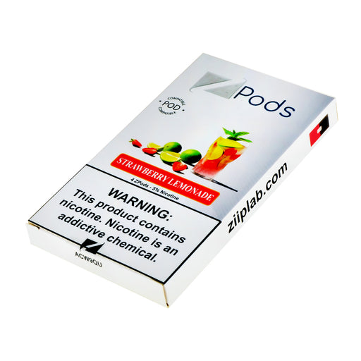 Ziip Pods Strawberry Lemonade 4ct Limited