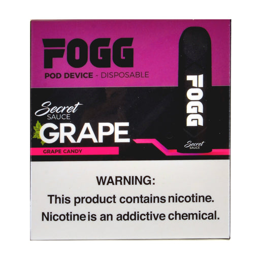 Fogg Grape Candy Pod Device Pack of 3