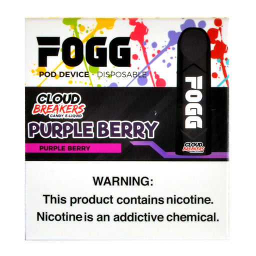 Fogg Purple Berry Pod Device Pack of 3