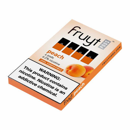Fruyt Pods Peach 4ct