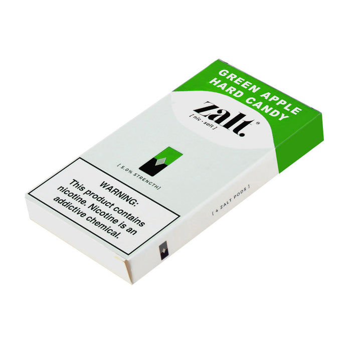 Zalt Pods Green Apple Hard Candy 4ct