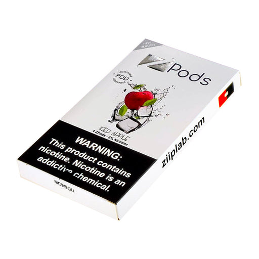 Ziip Pods Iced Apple New Flavors