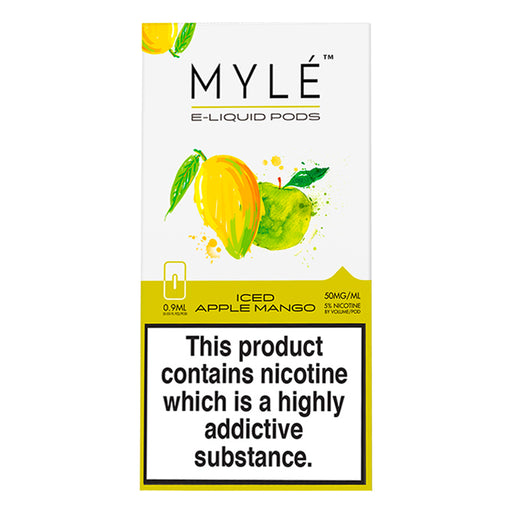 Myle Iced Apple Mango 4 Pods
