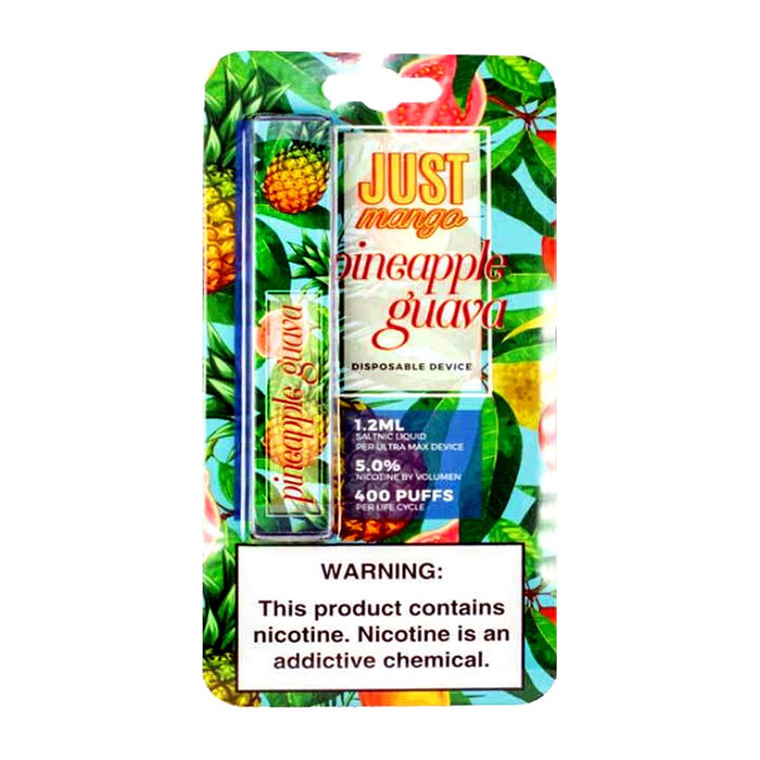 Just Mango Pineapple Guava Disposable Pod Device