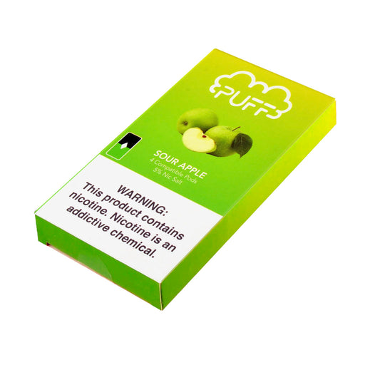 Puff Pods Sour Apple 4ct