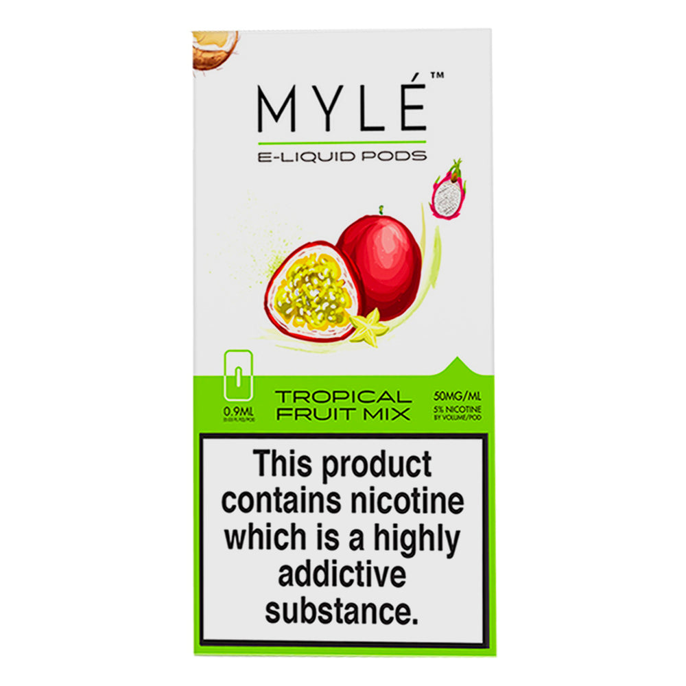 Myle Tropical Fruit Mix 4 Pods