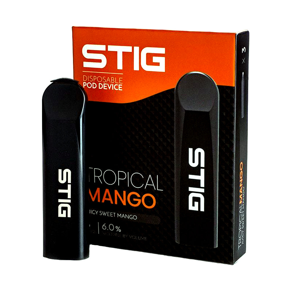 Stig VGOD Device Tropical Mango 6% nic Pack of 3