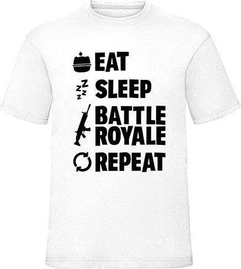 T-shirt Fortnite EAT SLEEP