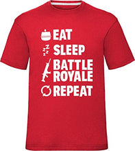 Charger l'image dans la galerie, T-shirt Fortnite EAT SLEEP