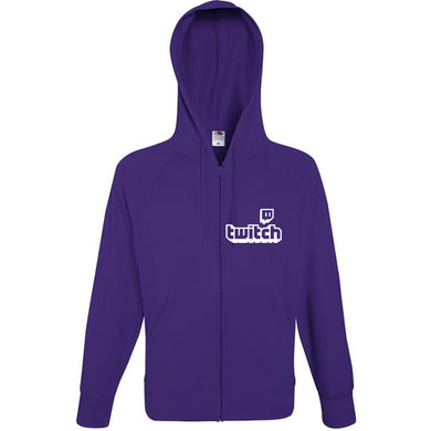 Sweat à capuche Zippé Twitch