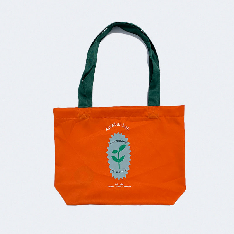 Tumbuh Lab x We Are Out of Office Tote Bag Orange