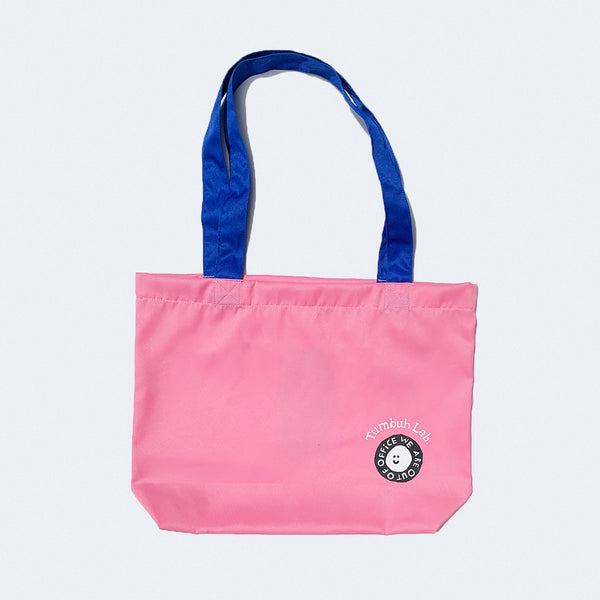 Tumbuh Lab x We Are Out of Office Tote Bag Pink