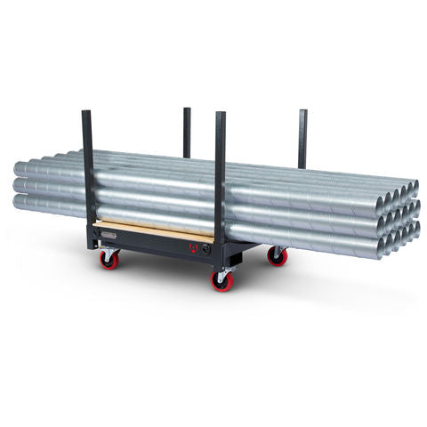 FlexiKart - a multi-purpose, manoeuvrable trolley for moving pallets and materials safely around