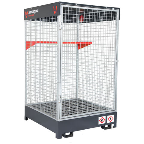 DrumCage - COSHH compliant storage unit for liquids, gases and solids