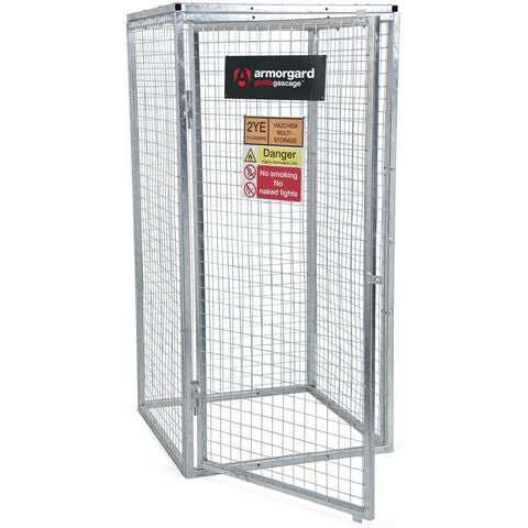 Gorilla Gas Cage 900x900×1800, Modular, Bolt-together Gas Cage