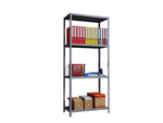 Phoenix AR Series AR1884/4G 4 Shelf Static Shelving Unit in Grey