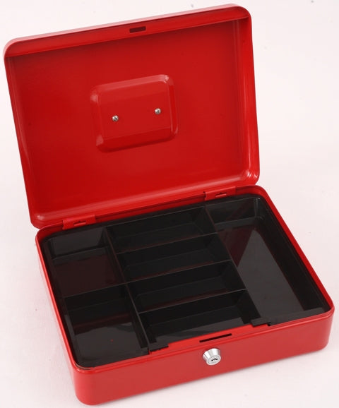 "Phoenix 12"" Cash Box CB0103K with Key Lock - Buy Safes Online Co. UK"