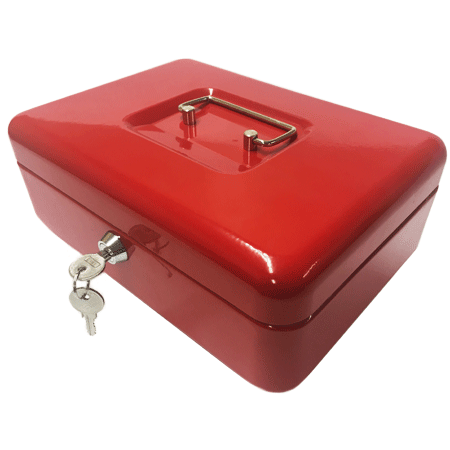 "Phoenix 8"" Cash Box CB0101K with Key Lock - Buy Safes Online Co. UK"