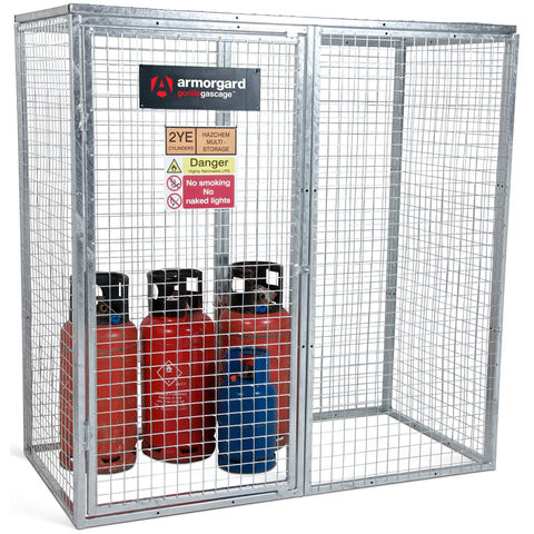 Gorilla Gas Cage 1800x900×1800, Modular, Bolt-together Gas Cage
