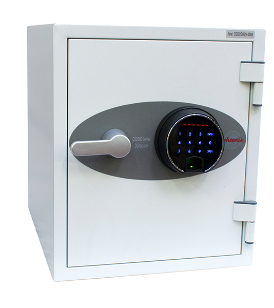 Phoenix Datacare DS2001F Size 1 Data Safe with Fingerprint Lock - Buy Safes Online Co. UK