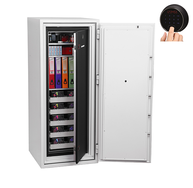 Phoenix Data Commander DS4622F Size 2 Data Safe with Fingerprint Lock - Buy Safes Online Co. UK