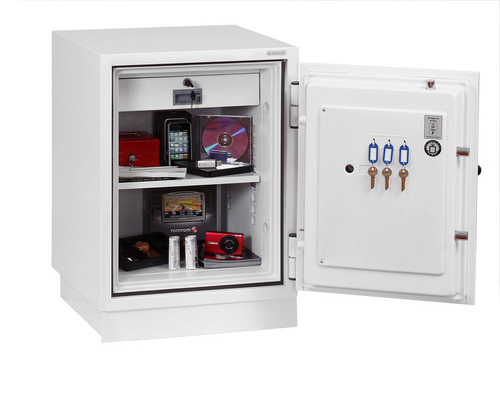 Phoenix Fire Fighter FS0441F Size 1 Fire Safe with Fingerprint Lock - Buy Safes Online Co. UK