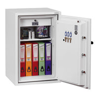 Phoenix Fire Fighter FS0442K Size 2 Fire Safe with Key Lock - Buy Safes Online Co. UK