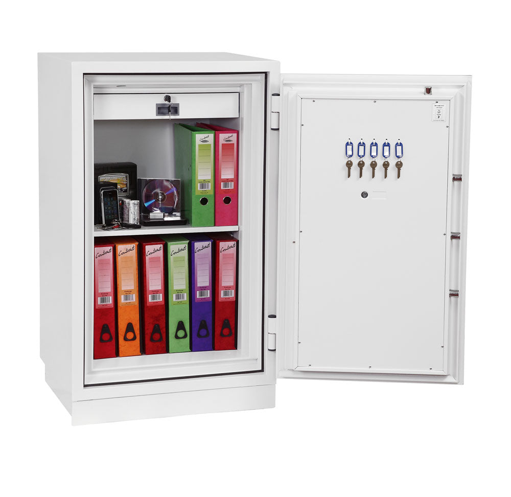 Phoenix Fire Fighter FS0443K Size 3 Fire Safe with Key Lock - Buy Safes Online Co. UK