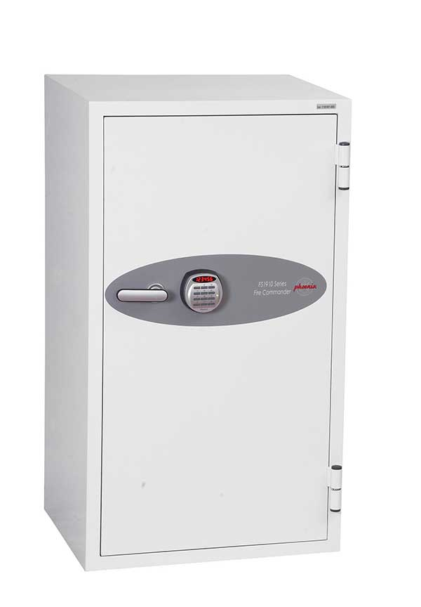 Phoenix Fire Commander FS1911E Size 1 Fire Safe with Electronic Lock - Buy Safes Online Co. UK