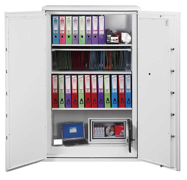 Phoenix Fire Commander FS1914F Size 4 Fire Safe with Fingerprint Lock - Buy Safes Online Co. UK