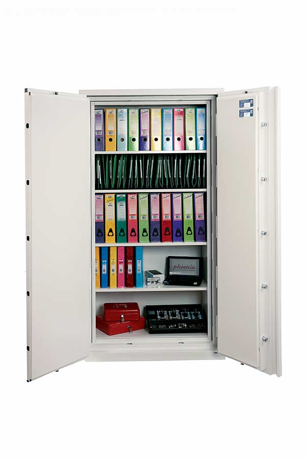 Phoenix Fire Commander Pro FS1922K Size 2 S2 Security Fire Safe with Key Lock - Buy Safes Online Co. UK