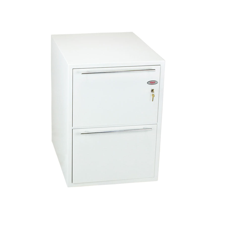 Phoenix Archivo Fire File FS2232K 2 Drawer Filing Cabinet with Key Lock