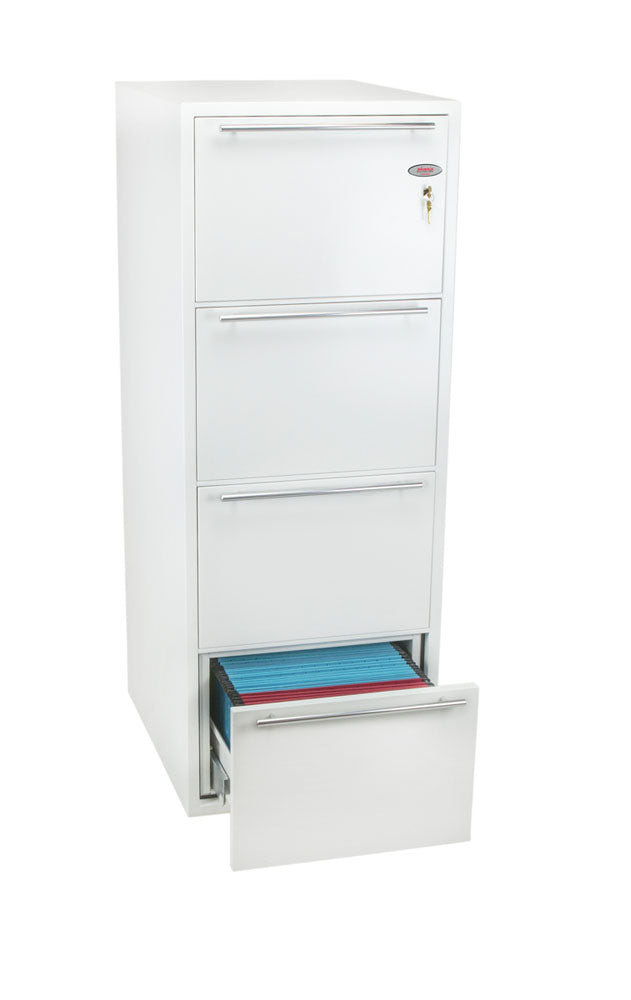 Phoenix Archivo Fire File FS2234K 4 Drawer Filing Cabinet with Key Lock - Buy Safes Online Co. UK