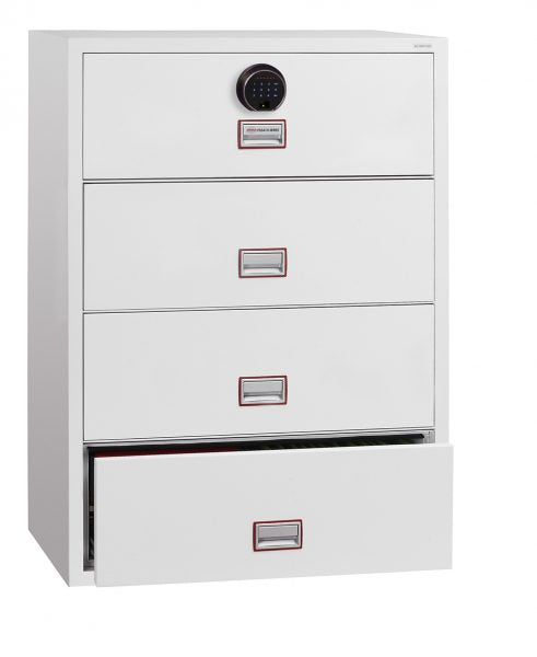 Phoenix World Class Lateral Fire File FS2414F - Buy Safes Online Co. UK