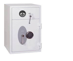 Phoenix Diamond Deposit HS1090ED Size 1 High Security Euro Grade 1 Deposit Safe with Electronic Lock - Buy Safes Online Co. UK